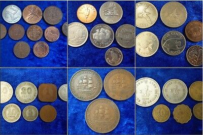 British Territories Coin Lots By Country - Large Multi Listing - Gib, IOM, older