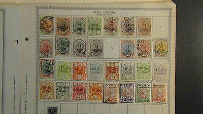 World stamp collection on Minkus pages to '89 + glassines, etc