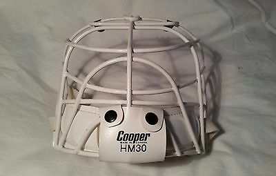 Vintage L   Hm30 Cooper Hockey Goalie Cage Mask Excellent!  Osgood Cool Htf!