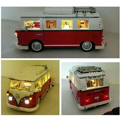 lego volkswagen t1 camper van instructions