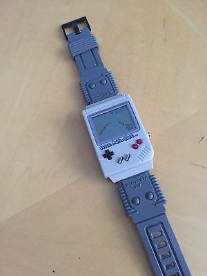 Rare Mani Nintendo Gameboy Gamewatch Boy Watch - Super Mario Race! Game & Watch