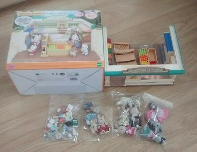 Sylvanian Families Supermarket With Figures & Many Accessories