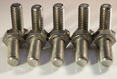 M8 X 1.25 X 25mm Stainless steel hex head metric 10pcs