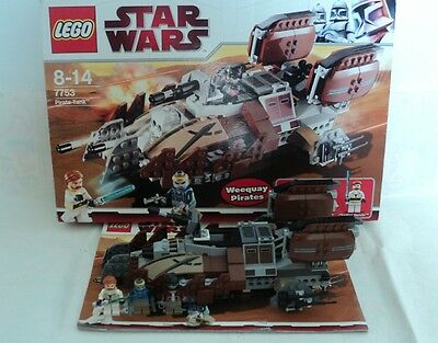Lego Star Wars Weequay Pirate Tank 7753 Set