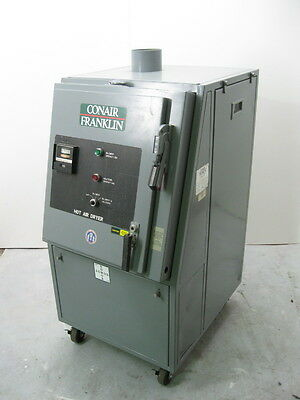 Conair Franklin Hot Air Dryer Unit 280 CFM Cincinnati Fan Pressure Blower PB-8