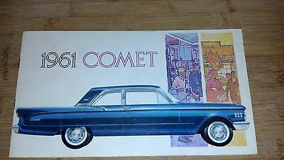 1961 Comet 17 page sales book... all you wanted to know on the 61