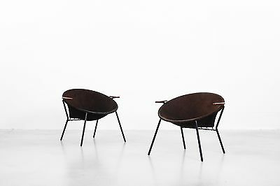 Lounge Chairs by Hans Olsen for Lea danishdesign Mitcentury