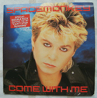 """SPACE MONKEY - COME WITH ME -  Doublepack  7"""" vinyl single record UK IVS D5"""