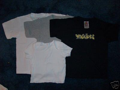 Incubus T-Shirts Size  2/4T  6 / 8, Or 10 /12  6 Or 12 Months