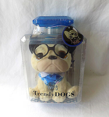 Trendy Dog French Bulldog Issey,  Perfumed Soft Toy, New And Sealed Very Cute