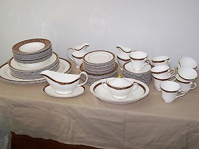 "Royal Doulton ""TENNYSON"" 67 Piece SET ) Fine Bone China"