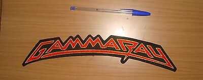 GAMMA RAY - LARGE LOGO Embroidered BACK PATCH