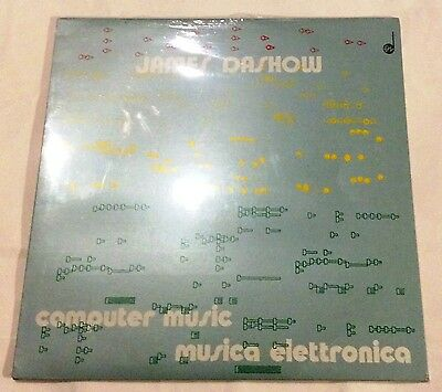 NEW factory sealed - James Dashow - COMPUTER MUSIC - MUSICA ELETTRONICA - EDIPAN