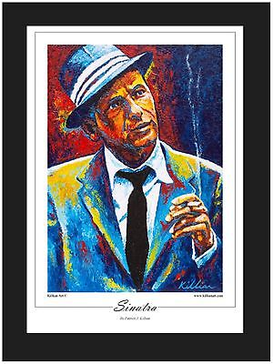 """Frank Sinatra"" Limited Edition Art Print By Patrick J Killian"