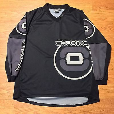 Rare Vintage Chronic Paintball Jersey- Black & Grey