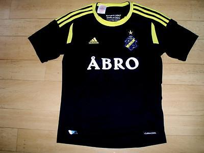 AIK Stockholm 2012-13 YOUTH Medium home football shirt soccer jersey 11-12 years