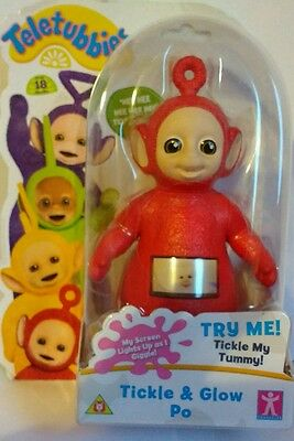 Teletubbies - Tickle & Glow Po - Brand New