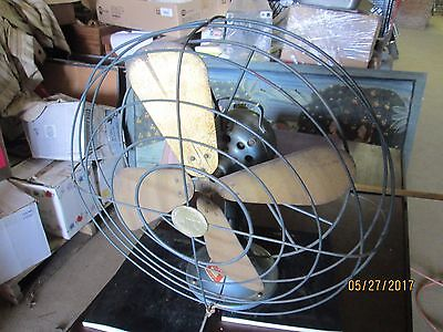 Mimar Productions Electric Fan  W/ Brass Blades  Working