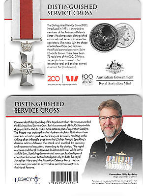 2017 Anzac 20 cents Uncirculated Coin - Distinguished Service Cross