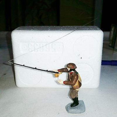 DEPT 56 FLY CASTING IN THE BROOK New England  acc MINT RET #56633