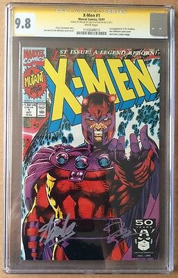 X-Men #1 (Marvel 1991) - Graded 9.8 Signed by Stan Lee and Jim Lee