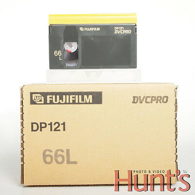 Fujifilm Dp121-66L Dvcpro 66-Minute Video Cassette (Large) – Lot Of 10