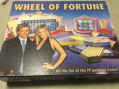 'Wheel of Fortune' Crown Andrews complete Board Game