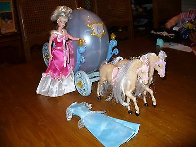 Barbie Cinderella Pumpkin Carriage Lot