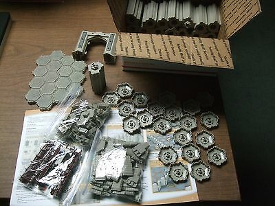 Heroscape Fortress of the Archkyrie Expansion set Castle terrain Complete no box