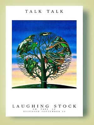 Talk Talk Laughing Stock Poster