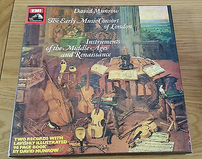 David Munrow - The Early Music Consort Of London  2 Record Box Set