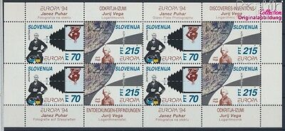 slovenia 80-81 Sheetlet MNH 1994 Discoveries, Inventions (7976758