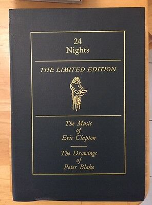 Eric Clapton 24 Nights Ltd ED Box Drawings of Peter Blake UK (very rare)