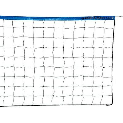 Park & Sun Sports Regulation Indoor/Outdoor Recreational Volleyball Net w/ Cable