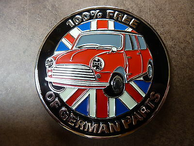 Mini 100% Free Of German Parts Mini Car Grille Badge Cooper S Minor 850 Moke