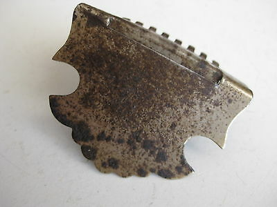 Vintage Fairbanks Vega Bell Mandolin Part Tailpiece for Project / Repair