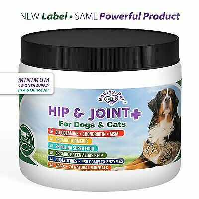 Glucosamine | Chondroitin | MSM + MUCH MORE for Dogs and Cats | Canine and 100%