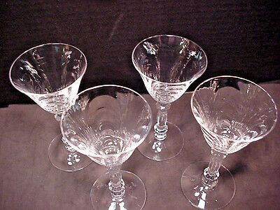 CAMBRIDGE Caprice 3oz Liquor Cocktail Stems Wine Cordial Glassware