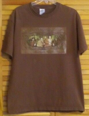 The Doors T-Shirt Morrison Hotel Brown Short Sleeves Large