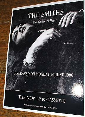 The Smiths Queen Is Dead Poster