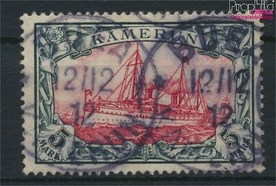 Cameroon, German Colony 19 used 1900 Ship Imperial Yacht Hohenzollern (9030074