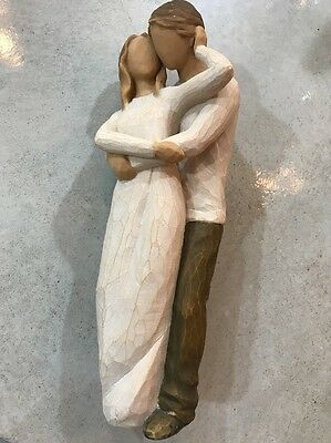 """Willow Tree Together Demdaco Lordi Man Woman 9"""" Figurine Great Condition 2011"""