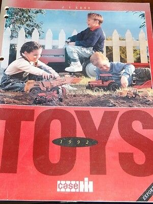 Case 1992  Replica Toy Catalogue by Ertl