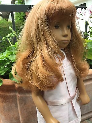 Vintage Sasha Doll Red Hair with Pink Party Dress Trendon 1969