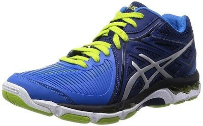 ASICS volleyball shoes GEL-NETBURNER BALLISTIC MT TVR477 Navy / Silver