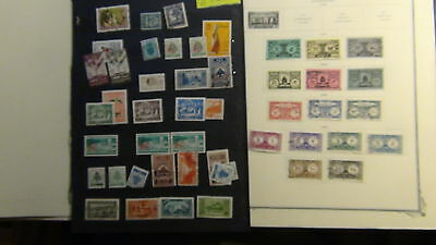 Lebanon stamp collection on Scott Specialty / various pages