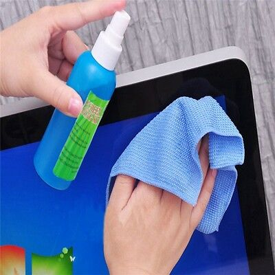 TV LCD LED PC Monitor Laptops Tablet Cleaner 3 in 1 Screen Cleaning Tools Kit