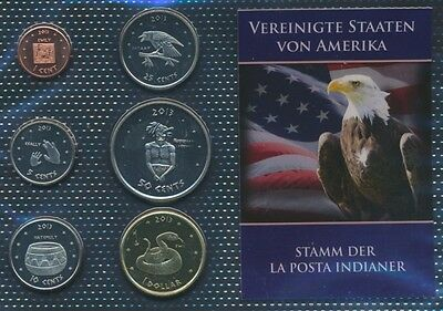 U.S. 2013 UNC coin set 2013 1 cent until 1 US dollars La Posta (9030651