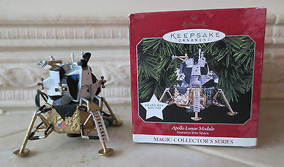 Hallmark Keepsake Ornament 1998 Apollo Lunar Module Journey Into Space Magic MIB