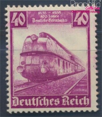 German Empire 583 MNH 1935 100 years German Railways (8496771
